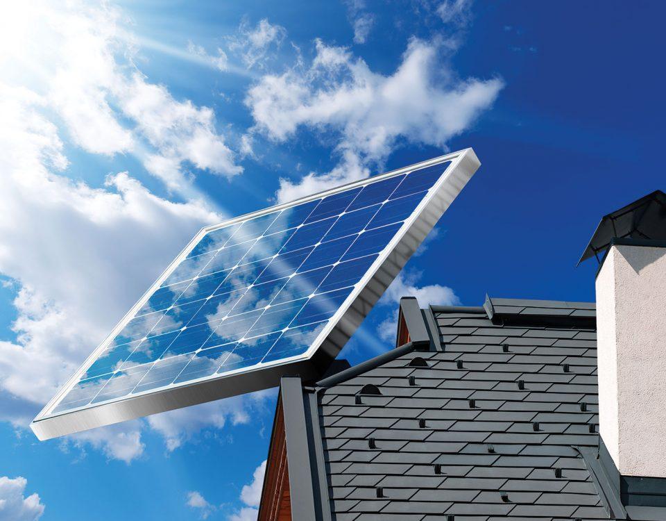 Efficacité économique apportée par les panneaux solaires