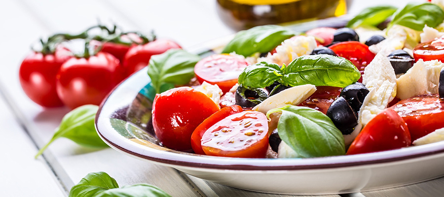 Des plats de salades à déguster en famille