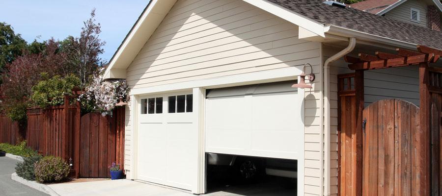 porte de garage adapté