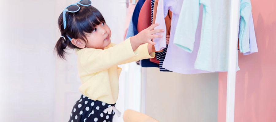 Achat de vêtements pour filles