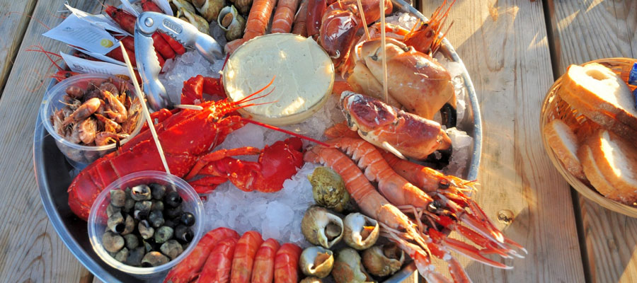 Restaurant de fruits de mer à Cabourg